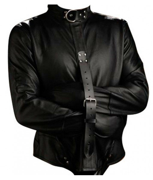 Men's Genuine Leather Heavy Duty Straitjacket Leather Straitjacket