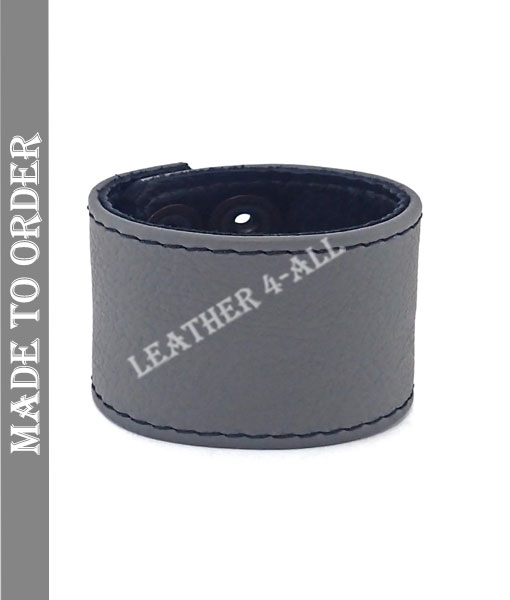 BDSM Leather Handcuffs Plain Leather Master Slave Cuffs In Different Colors